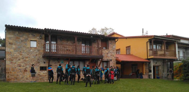 Exterior albergue